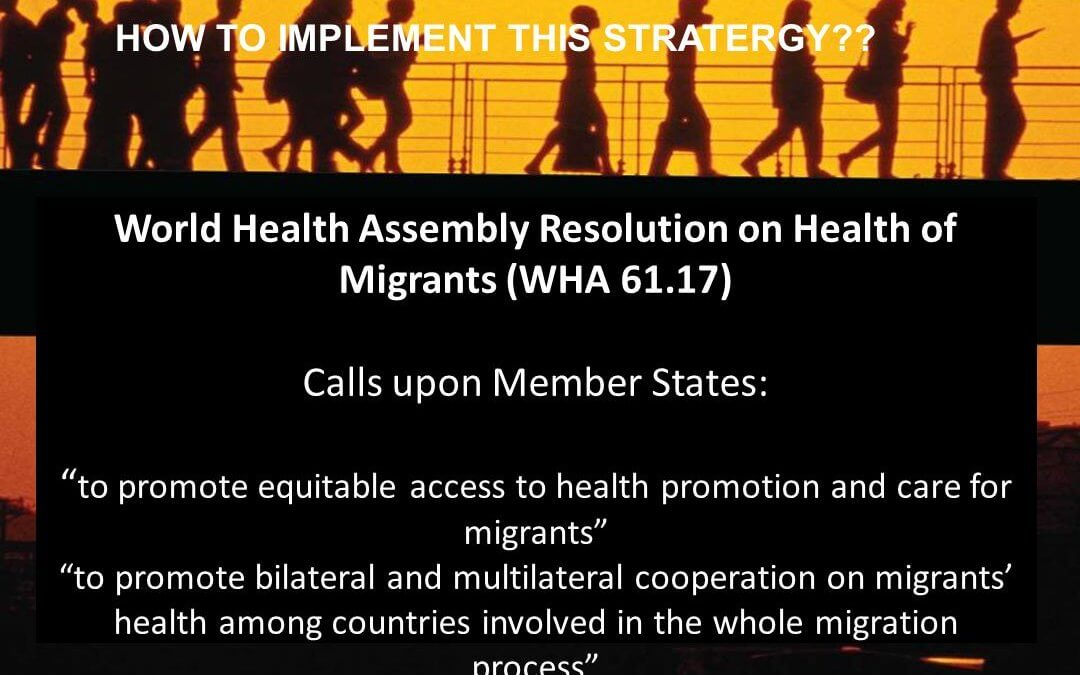 Health of migrants
