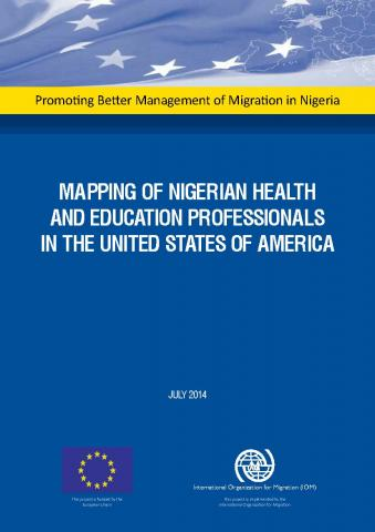 Mapping of Nigerian Health and Education Professionals in the United States of America