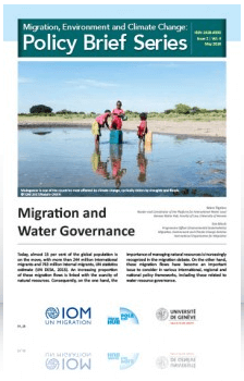 Migration, Environment and Climate Change: Policy Brief Series Issue 2 | Vol. 4 May 2018